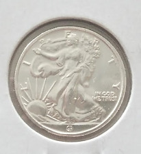 1/10oz Silver Round Metal | Walking Liberty | 1/10oz .999 Silver Medal (RC4868)