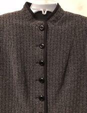 NEW! Armani Collezioni Wool Blend Blazer Jacket Coat  Sz 10  Made In Italy