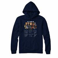 Star Wars Hoodie, 43 Years Of Star Wars 1977-2020 Signature Partywear Gift Top