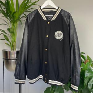 Vintage USA Wool Varsity Bomber Jacket Chrysler Spell Out