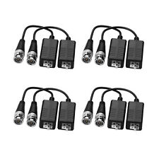 8 paar HD-CVI/TVI/AHD Kamera Video Passiv Balun BNC Stecker auf UTP Cat5/5e/6