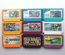Mario Bros. 3 Takeshi Spartan X Spaltan 1942 1943 Lot of 9 Nintendo Famicom JPN