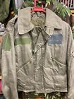 RAF Mk3 Flying Jacket In Size 7 Dated 2003 With Patches For Badges