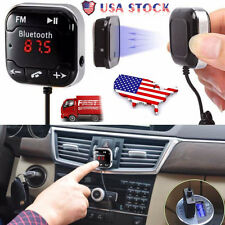 Bluetooth Magnetic FM Transmitter Car Kit USB Charger SD MP3 Player Handsfree US