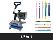 Sublimation 10pc/time Pen Heat Transfer Machine Pen Heat Press DIY Printing 110V