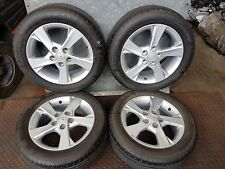 """TOYOTA AURIS TR D-4D 2011 SET OF 16"""" ALLOY WHEELS WITH CONTINENTAL TYRES HL45142"""