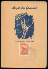 Mayfairstamps Austria Event 1946 Card Mauthausen Independence Day wwk30089