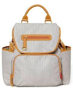 Skip Hop Grand Central Diaper Backpack Nappy Bag French Stripe