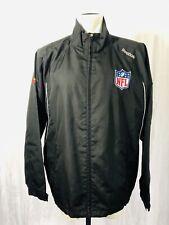 NWOT Reebok NFL Jacket Mens XL Black Reflective Detailing