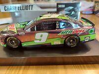 "RARE2020 1/24 #9 Chase Elliott ""MOUNTAIN DEW COLOR CHROME Camaro ZL1 - 1 of 144"