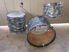 72' Ludwig Sky Blue Pearl 13,16,22 Exc++ Original Condition!
