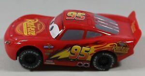 """Disney Pixar Lightning McQueen Rust-eze No.95 Slot Car 4"""" Long 1:43"""