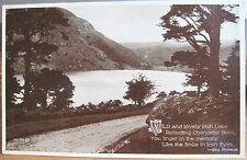Vtg Postcard WILD AND LOVELY IRISH LAKE Eva Brennan Killarney Ireland Phototype