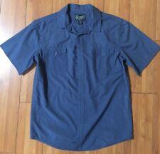 Retrofit Blue Polo Button Up Shirt for boys Size M 10/12