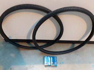 2 Tyres And Tubes Set 700 X32
