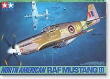 Tamiya 61047 1/48 North American RAF Mustang III from Japan Rare