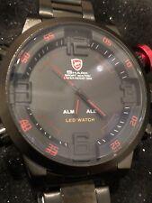 SHARK Men's LED Digital Quartz Sports Watch