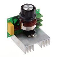 1X(Regulateur de Tension Voltage Controleur Vitesse Dimmer SCR 4000W AC 220V Q4V