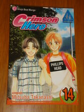 CRIMSON HERO VOL 14 VIZ MEDIA SHOJO BEAT MANGA MITSUBA TAKANASHI GRAPHIC NOVEL
