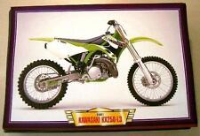 KAWASAKI KX250-L3 KX 250 CLASSIC MOTOCROSS MOTORCYCLE BIKE 2000'S PICTURE 2001