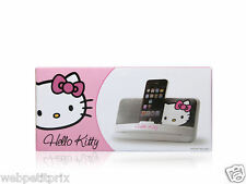 STATION D 'ACCEUIL HELLO KITTY  Lecteur MP3/4 / Iphone / Ipod / samsung etc NEUF