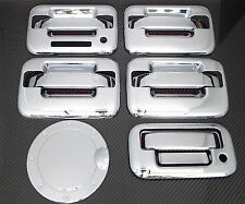 2004-2008 FORD F150 4DR CHROME DOOR HANDLE + TAILGATE + GAS DOOR COVER + KEYPAD