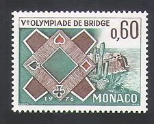 Monaco 1976 Bridge/Card Games/Playing Cards/Animation/Leisure 1v (n34782)