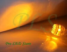 2x 7440 T20 Amber Yellow 15 LED Back Up Reverse Lights Bulbs