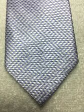 SAKS FIFTH AVENUE MENS TIE LILAC PURPLE WITH WHITE 3.5 X 61