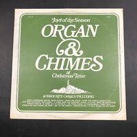 Organ & Chimes At Christmas Time - Noel Records GAC-101 VG+ Vinyl LP R1
