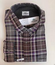 Klassische Lacoste Herrenhemden mit Button-Down-Kragen