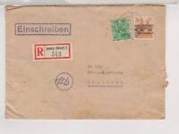 Bizone/Band-Netz, Mi. 51II, 44I, R-Amberg/Oberpf., 21.7.48