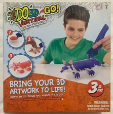 IDO3D Go! I Do 3D Vertical Draw 3D Set 3 Pens Building Art Toys Kids Creative
