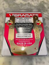 VIBRAMATE V5-G SERIES GOLD FOR BIGSBY B5G GIBSON ES SG LP SERIES GUITARS