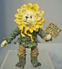 Articulated Boyds Flower Shoe Box Bear Zinnia Goodwish Feel Better Need A Hug?