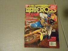 SEPTEMBER 1989 SUPER MOTOCROSS MAGAZINE,10 WIDEST JUMPS EVER,SUPER SUZUKIS,AMA