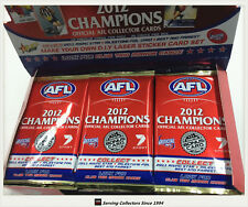 2012 Select AFL Champions Trading Cards Sealed Loose Packs Unit of 18--packs