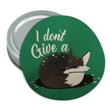 Black Fox I Don't Give A Pun Round Rubber Non-Slip Jar Gripper Lid Opener