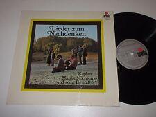 LP/KAPLAN MANFRED SCHWARZ UND SEINE FREUNDE/LIEDER ZUM NACHDENKEN/Ariola 86516