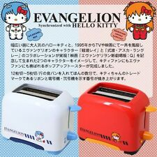 Hello Kitty x Evangelion Asuka Langley Pop-up Toaster Limited Model Japan F/S