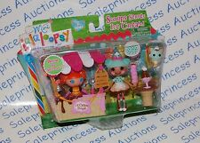 NIP Mini Lalaloopsy Scoops Serves Ice Cream 2 Doll Playset Set Bonus Pack BEA