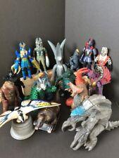 "WHOLESALE GREAT LOT 17 6-8"" Figures KAIJU Ultraman 1983-2006 GODZILLA F/S JAPAN"