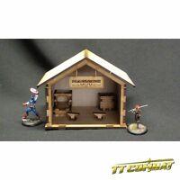 TTCombat - Wild West Scenics - WWS030 - Blacksmiths, great for Malifaux