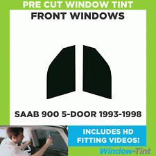 Pre Cut Window Tint - SAAB 900 5-door Hatchback 1993-1998 - Front Windows