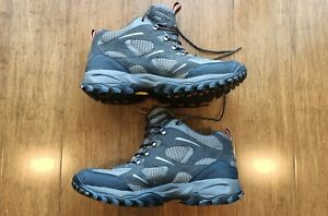 The North Face Goretex Vibram Walking Hiking Shoes / Boots Size US 13 Mens