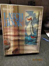 "New listing Wonder Art Latch Hook Wall Hanging Kit Sailboat 12"" X 27"" #4675 Bn Sealed"