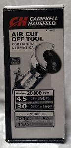 NEW Campbell Hausfeld 3in Wheel Air Cut-Off Tool AT200000 20,000 RPM