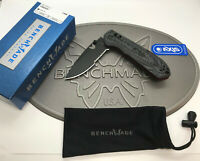 "Benchmade 560SBK-1 Freek 3.6"" CPM-M4 Black Serrated Blade Gray Black Knife *NEW*"