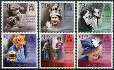 More details for guernsey royalty stamps 2021 mnh queen elizabeth ii 95th birthday 6v set