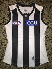 ** COLLINGWOOD MAGPIES PLAYER ISSUE JUMPER GUERNSEY AFL STAR ATHLETIC SWAN CLOKE